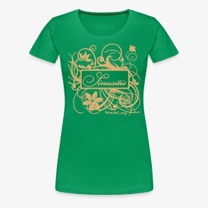 Sinusitis Sand - Frauen Premium T-Shirt