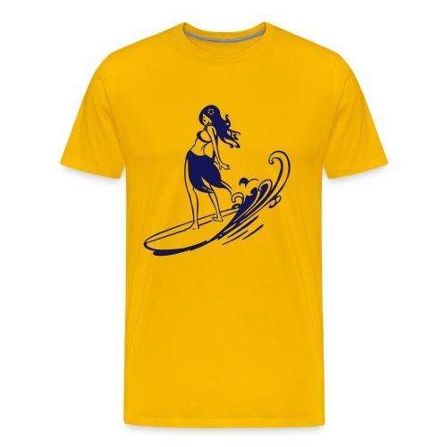 Supergirl - Men's Premium T-Shirt