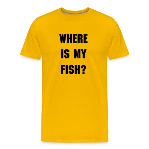 Mens fish - Men's Premium T-Shirt