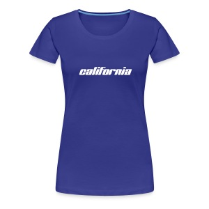 Frauen-T-Shirt california türkis - Frauen Premium T-Shirt