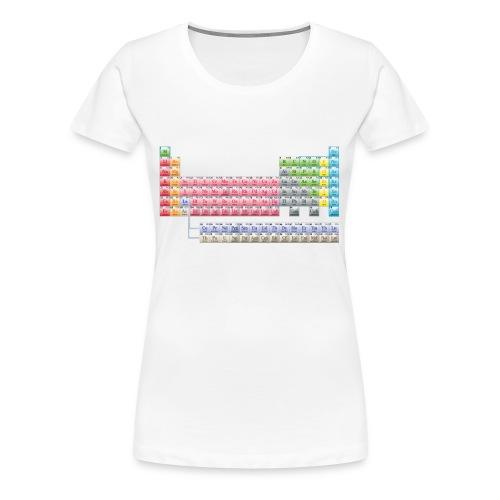 Mendeleiev - T-shirt Premium Femme