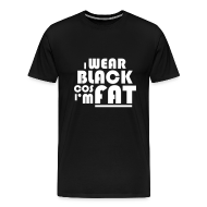 T-Shirts ~ Men's Premium T-Shirt ~ I Wear Black