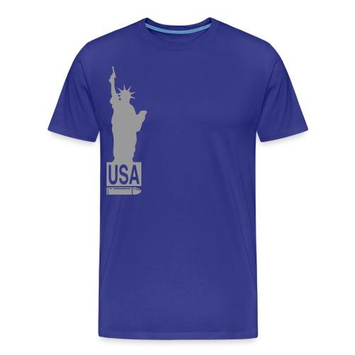 U.S.A - Mannen Premium T-shirt