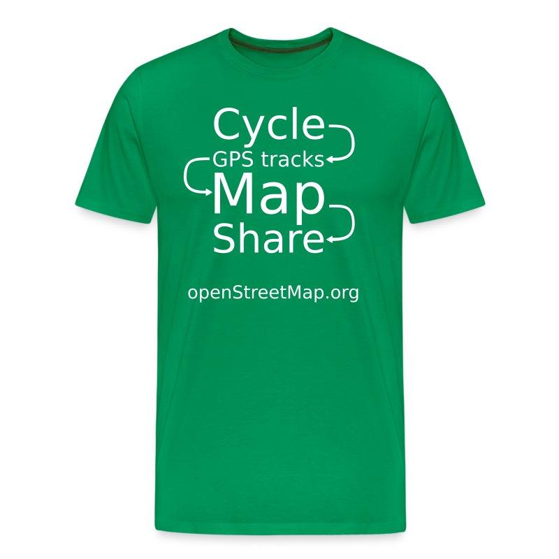 green t-shirt - Men's Premium T-Shirt