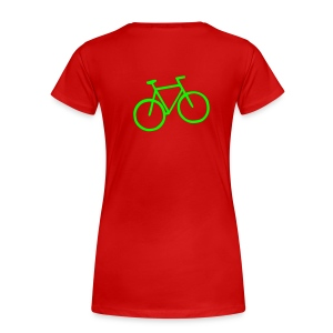 womens humor bike tee - Women's Premium T-Shirt