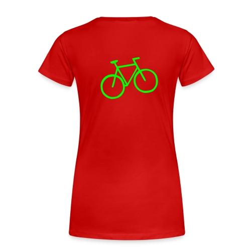 womens humor bike tee - Women's Premium T-Shirt