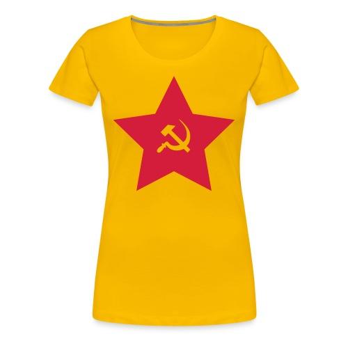 Red Army - Camiseta premium mujer