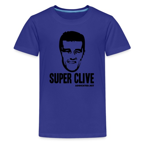 Super Clive (Jnr) - Teenage Premium T-Shirt
