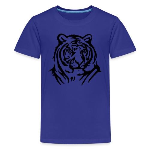 tiger  tröja - Premium-T-shirt tonåring