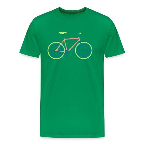 Fixie Vélo v1 - T-shirt Premium Homme