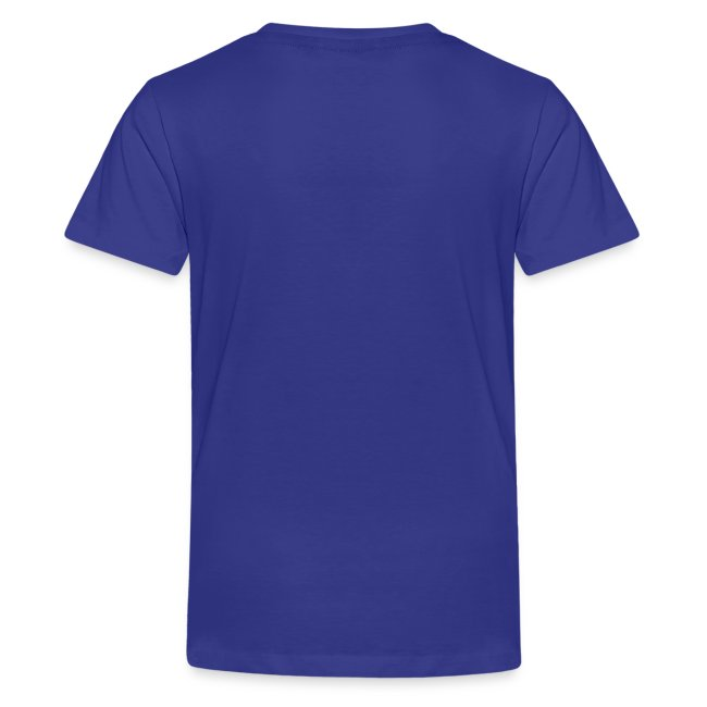 Change this text to whatever you want! - blue kids T shirt