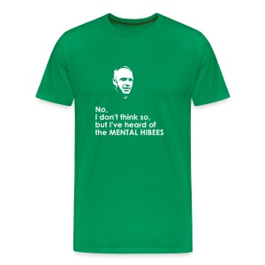 Hibs Shanks Tee (you choose the colour of this item) - Men's Premium T-Shirt