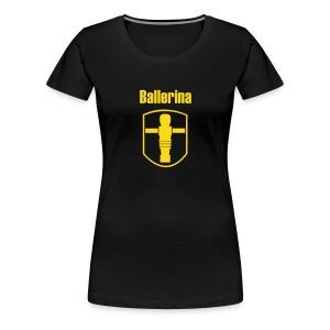 Girlie Ballerina - Frauen Premium T-Shirt