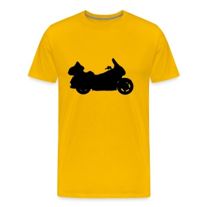 Gold Wing (black) - Men's Premium T-Shirt