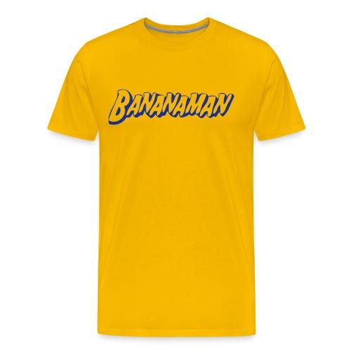 Bananaman t-shirt man - Mannen Premium T-shirt