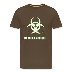 Bioharzard (Glow in the dark) - Men's Premium T-Shirt