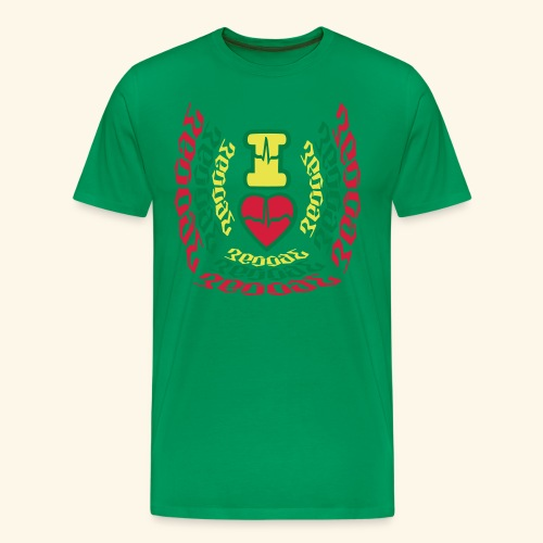I Love Reggae Vibes - T-shirt Premium Homme