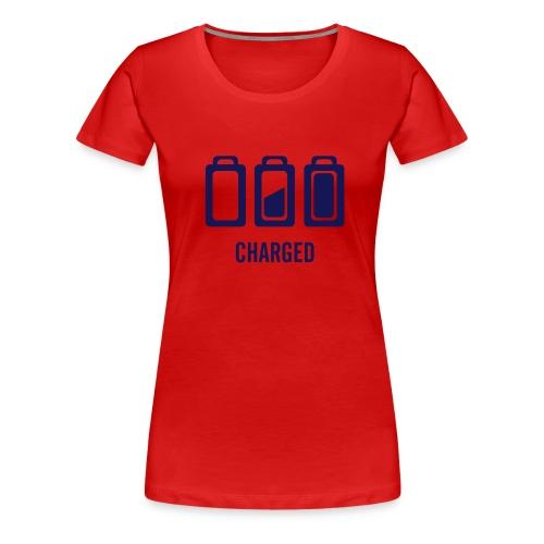 Baterie - Koszulka damska Premium