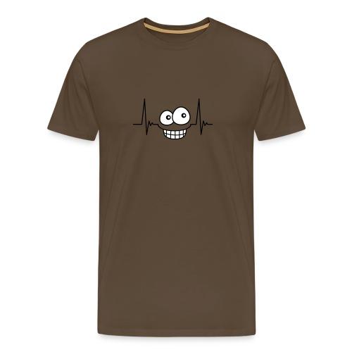 Smiley Pulse - Men's Premium T-Shirt