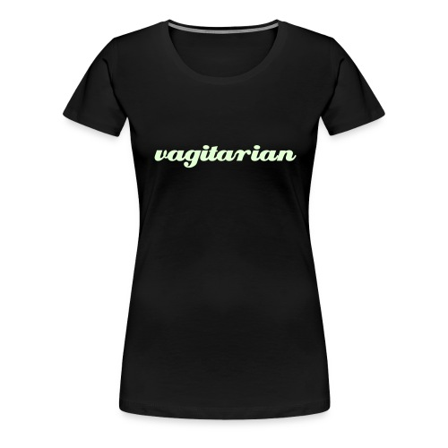 Vagitarian (Special Edition) - Vrouwen Premium T-shirt