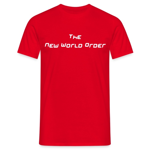 The New World Order - Männer T-Shirt
