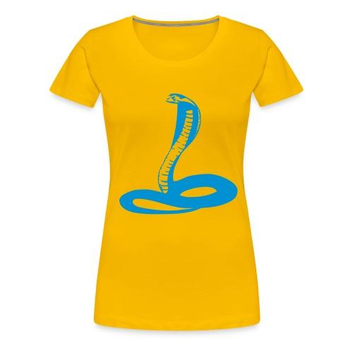 Kobra - Frauen Premium T-Shirt