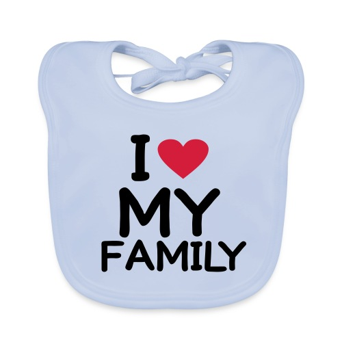 BABY LOVES FAMILY - Baby Organic Bib