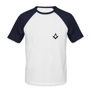 Masonic basic sport red - Tee shirt baseball manches courtes Homme