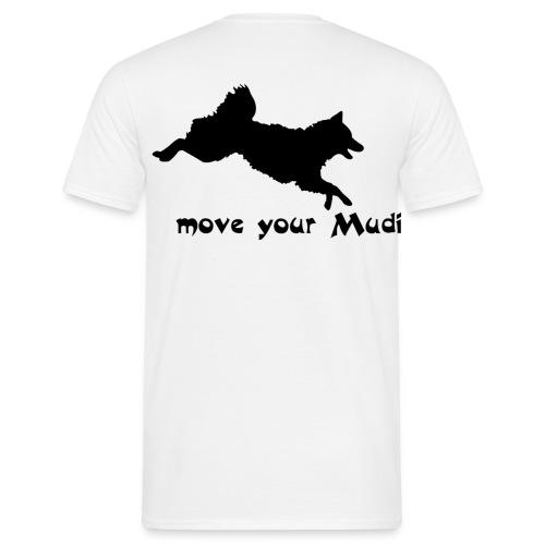 Move your Mudi black sand - Men's T-Shirt