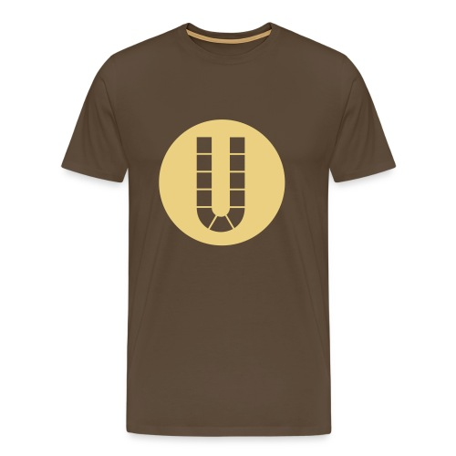 U Kreis - Männer Premium T-Shirt