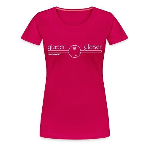 glaserwein retz girl - Frauen Premium T-Shirt