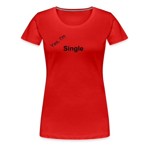 Ladies Singles T-shirt - Women's Premium T-Shirt