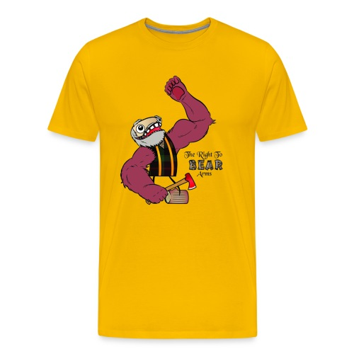 The Right to Bear Arms - Men's Premium T-Shirt