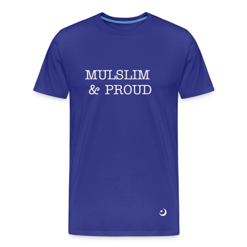Muslim & Proud - Men's Premium T-Shirt
