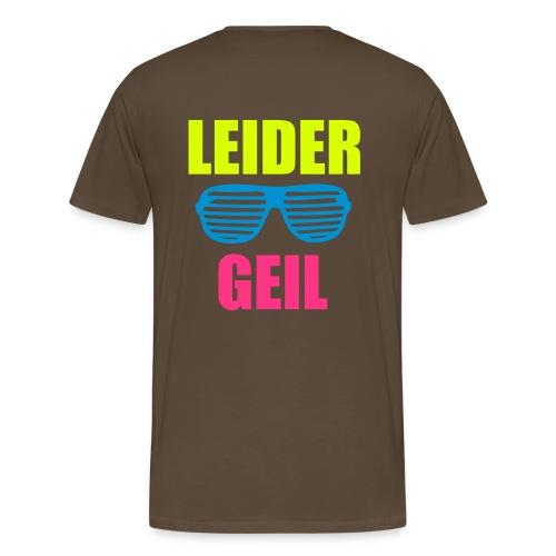 DJ Cocco: Leider Geil - Männer Premium T-Shirt