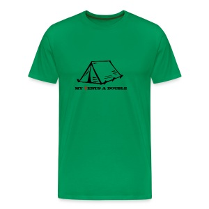 My Tents a Double - Men's Premium T-Shirt