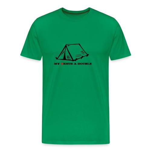 My Tents a Double - Men's Premium T-Shirt