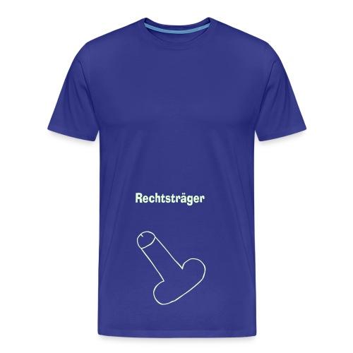 rechtsträger - Männer Premium T-Shirt