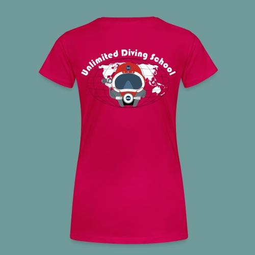 T-shirt F UDS 01 - T-shirt Premium Femme