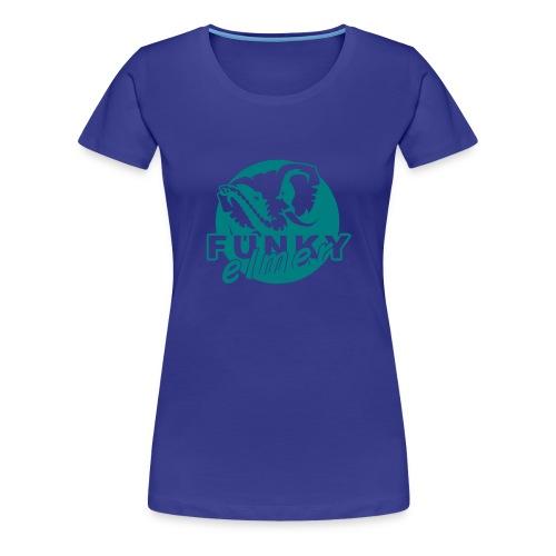 tee Shirt Funky Elmer - T-shirt Premium Femme