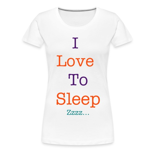 sleep - Women's Premium T-Shirt