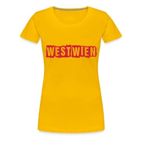 WEST WIEN SHIRT - Frauen Premium T-Shirt