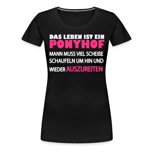 Prinz und Pferd - Frauen Premium T-Shirt