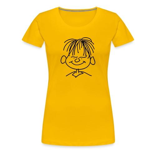 Frauen Shirt Druck vorne - Frauen Premium T-Shirt