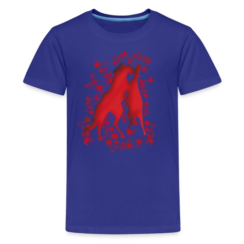 Teenager Premium T-Shirt - Pferdelandia Kids T-Shirt :)