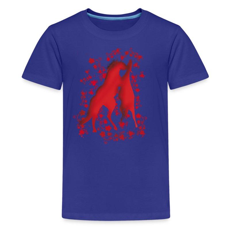 Teenager Premium T-Shirt - Pferdelandia Kids T-Shirt :)