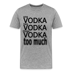 One Vodka Homme - T-shirt Premium Homme