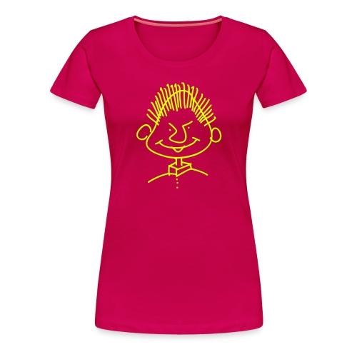 Frauen T-Shirt Druck vorne - Frauen Premium T-Shirt