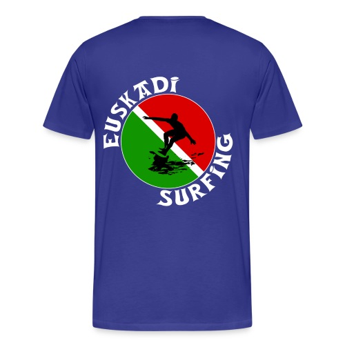 Euskadi surfing - Men's Premium T-Shirt