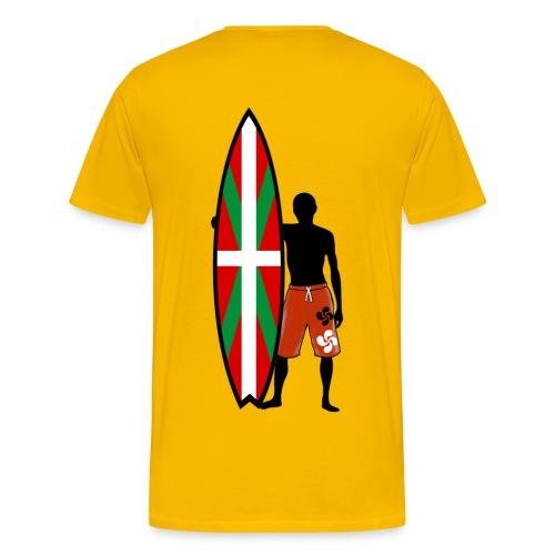 Basque surfing - Men's Premium T-Shirt